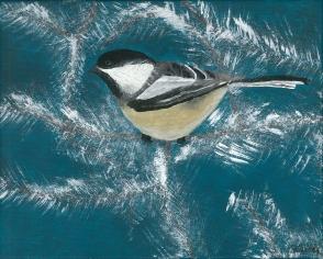 bird-bluebackground